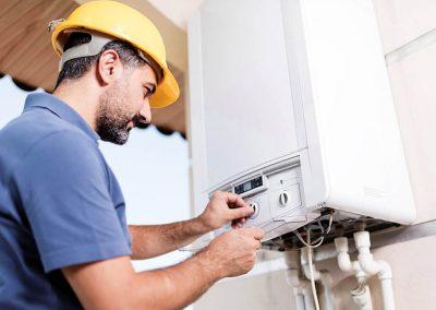Központifűtés- és gázhálózatrendszer-szerelő